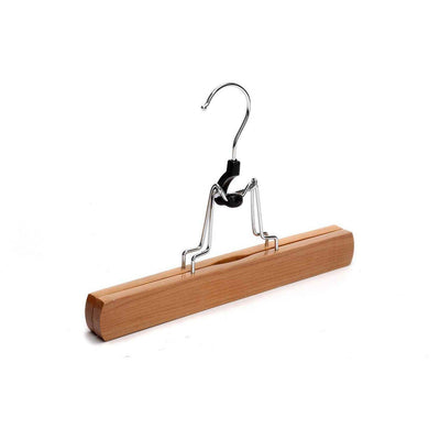 Natural Wood Pants Slack Hangers