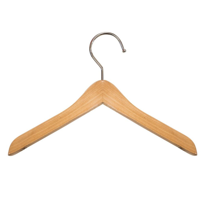 Wooden Mini Doll Pet Clothes Hangers - Natural - 6""