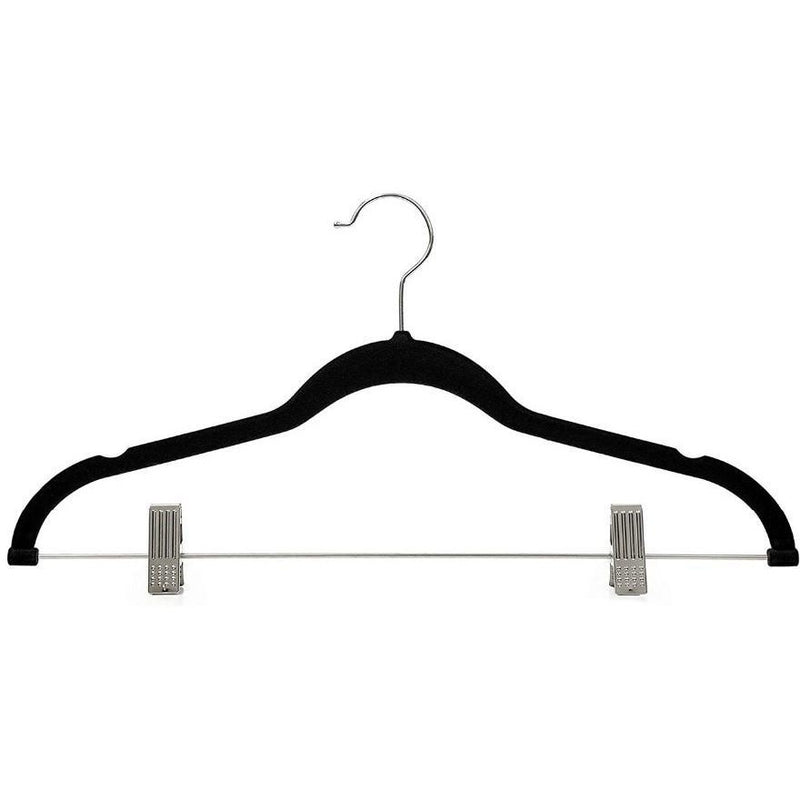 Velvet Suit Hangers with Clips