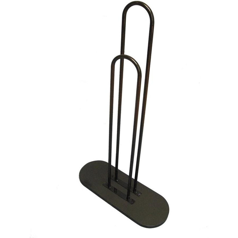 Black Wooden Base Hanger Stacker Organizer Holder