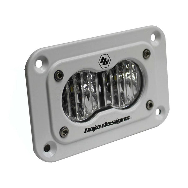 S2 Pro, LED Wide Cornering, Flush Mount, White