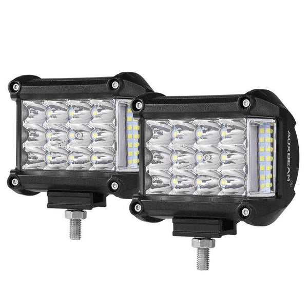 360 SERIES 4 INCH 18W PHILIPS COMBO BEAM SIDE SHOOTER LED LIGHT BARS