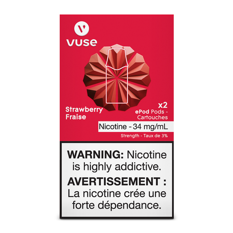 Vuse ePod Replacement Pods - Strawberry