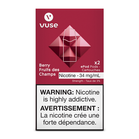Vuse ePod Replacement Pods - Berry