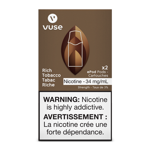 Vuse ePod Replacement Pods - Rich Tobacco