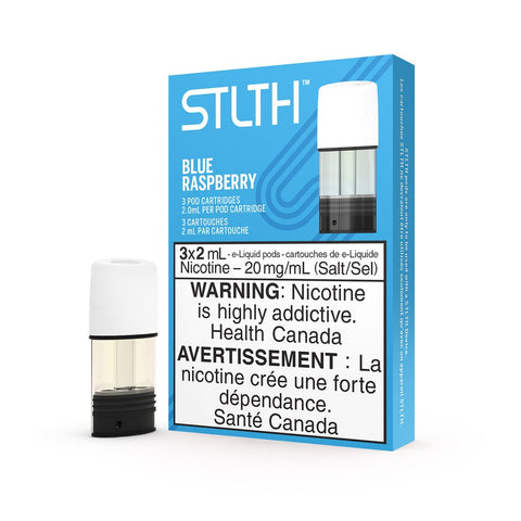 Blue Raspberry STLTH Pods