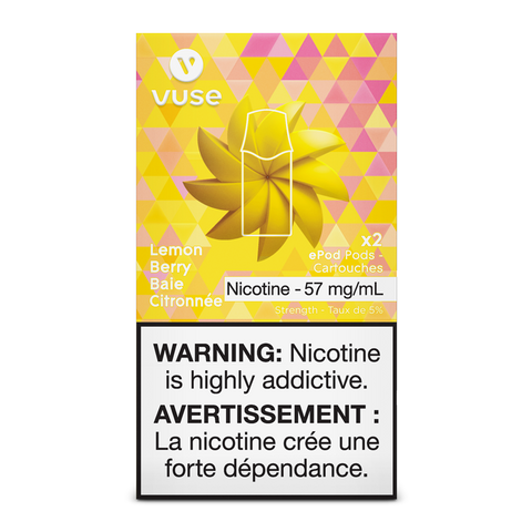 Vuse ePod Replacement Pods - Lemon Berry