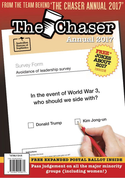The Chaser Annual 2017
