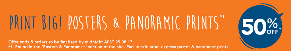 Category Posters & Panoramic Prints offer - ends 29.08.17