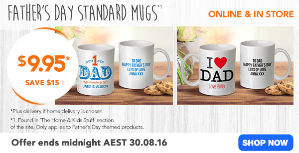 $9.95 Father's Day Mugs