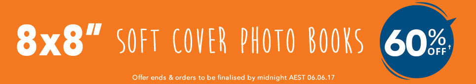 Category Soft Cover Photo Book offer - ends 6.06.17