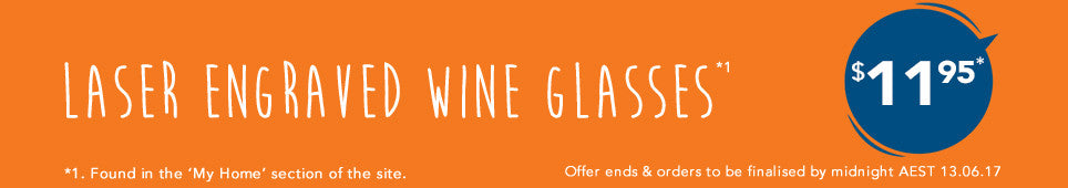 Category Wine Glasses offer - ends 13.06.17