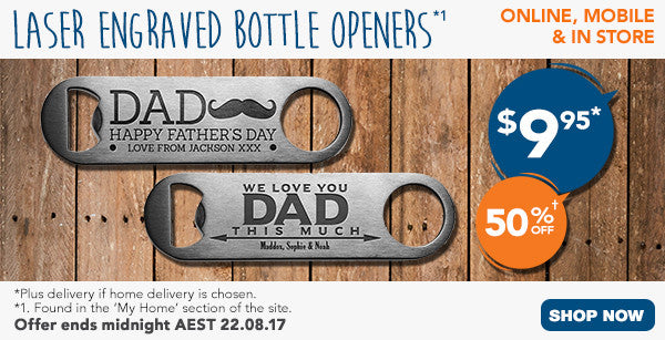 Father's Day Bottle Openers
