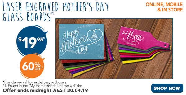 Mother's Day Glass Boards