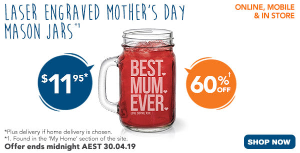 Mother's Day Mason Jars