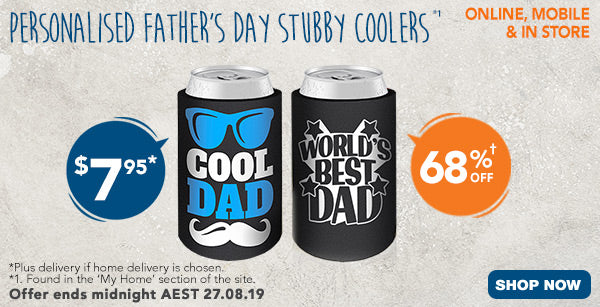 FD Stubby Coolers - $7.95 (68% off)
