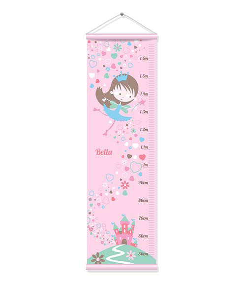 Canvas Growth Chart - Fairy