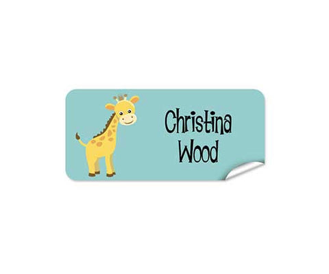 Little Giraffe 42pk Label - Rectangle