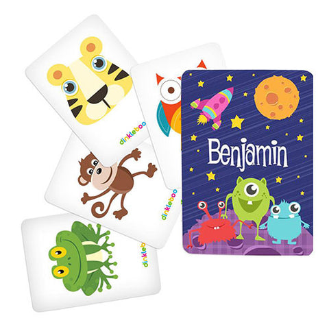 Space Memory Game Animal Pack 1