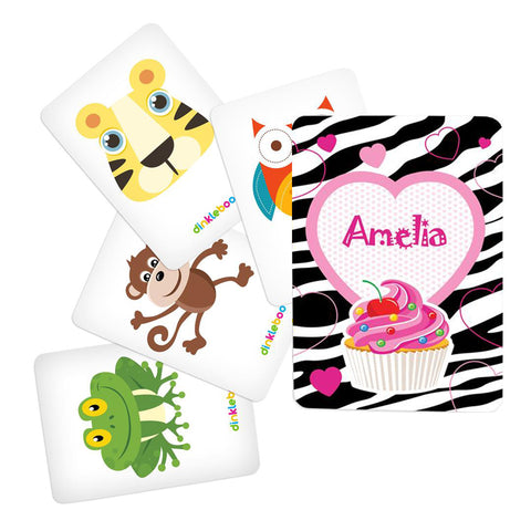 Cupcake Memory Game Animal Pack 1