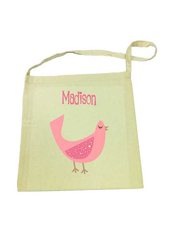 Library Bag - Pink Dove