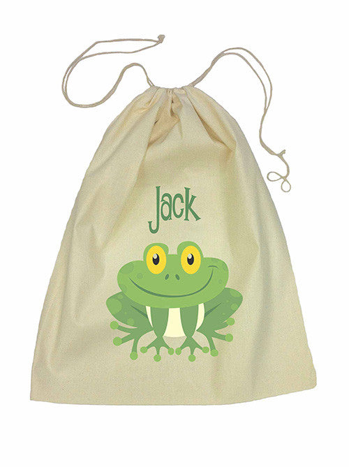 Drawstring Bag - Green Frog