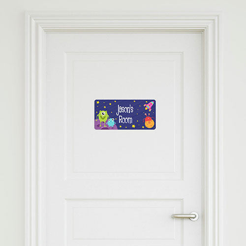 Aliens Small Door Sign