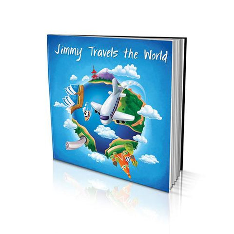 Large Soft Cover Story Book - Travelling the World