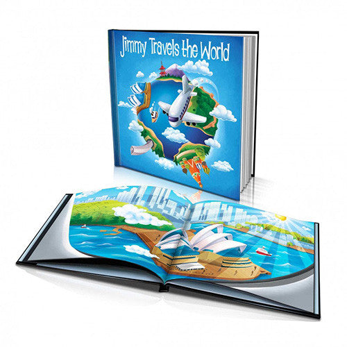 Hard Cover Story Book - Travelling the World