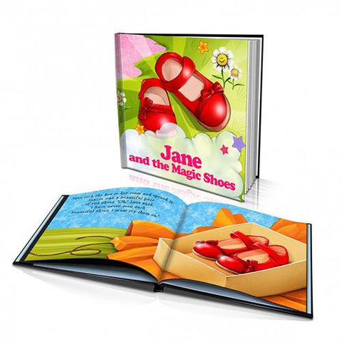 Large Hard Cover Story Book - The Magic Shoes