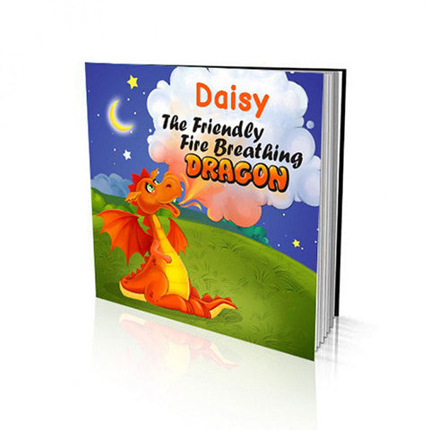Soft Cover Story Book - The Friendly Fire Breathing Dragon