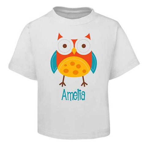 Red Owl  Kids T-Shirt