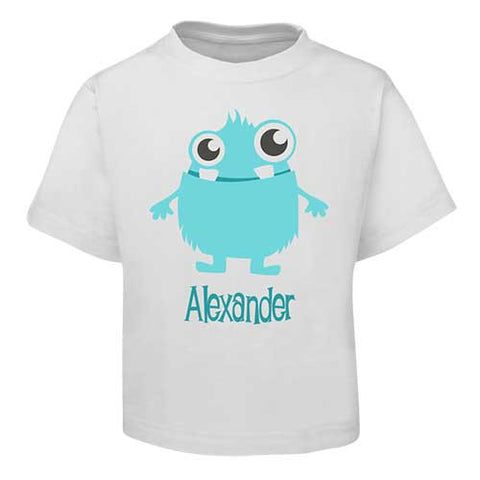 Blue Alien  Kids T-Shirt