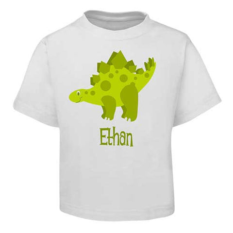 Green Dinosaur  Kids T-Shirt