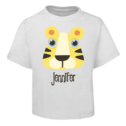 Yellow Tiger Kids T-Shirt