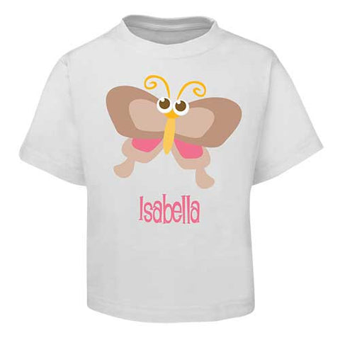 Brown Butterfly  Kids T-Shirt