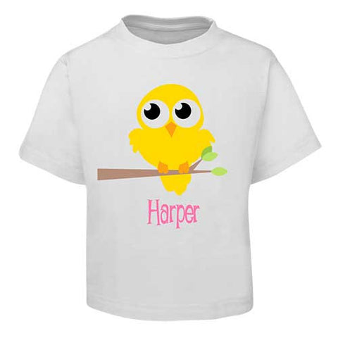 Yellow Bird Kids T-Shirt