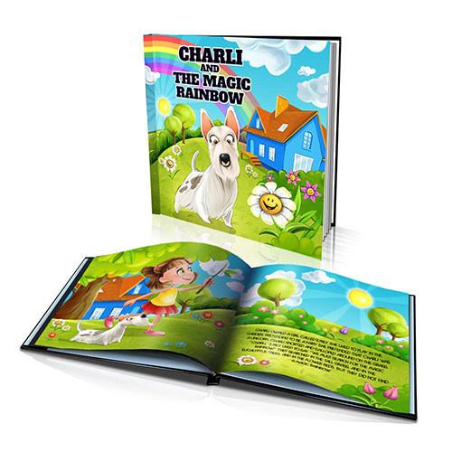 Large Hard Cover Story Book - The Magic Rainbow