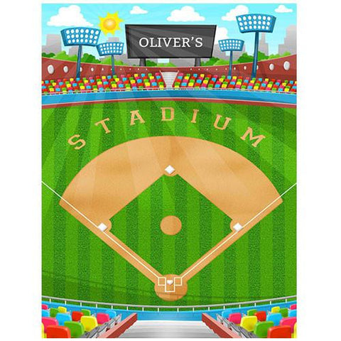 Large Baseball Play Blanket