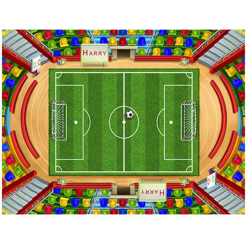 Medium Soccer Play Blanket