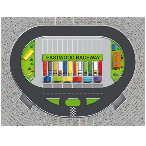 Medium Raceway Track Play Blanket