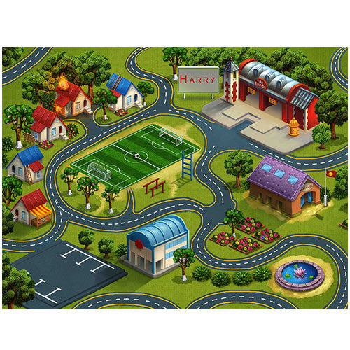 Medium Fire & Rescue Play Blanket