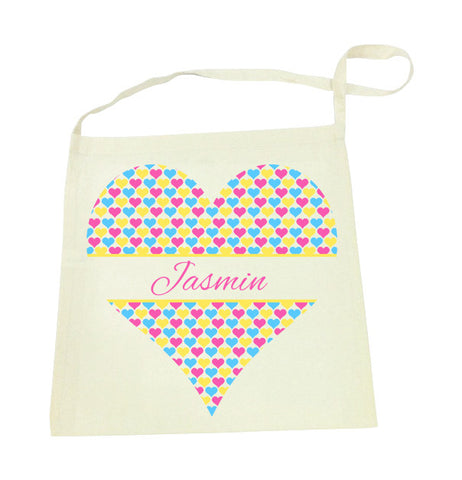 Library Bag - Hearts