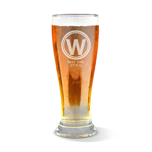 Initial Design Premium 425ml Beer Glass