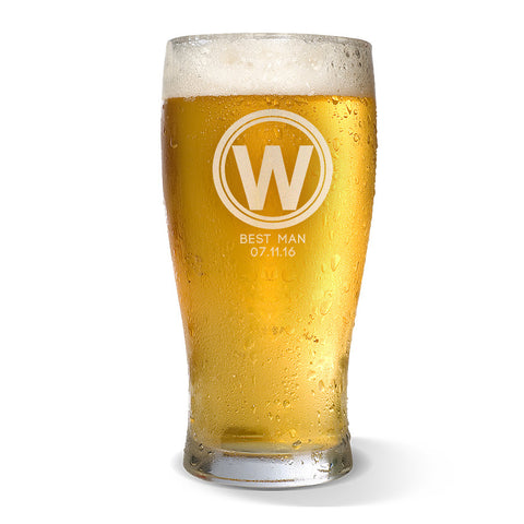 Initial Standard 425ml Beer Glass
