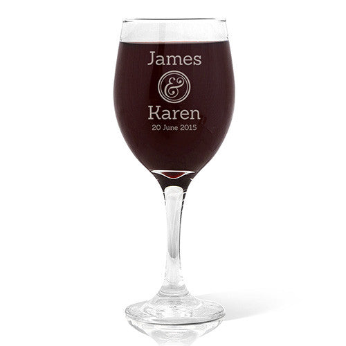 Couples Design Wine 410ml Glass