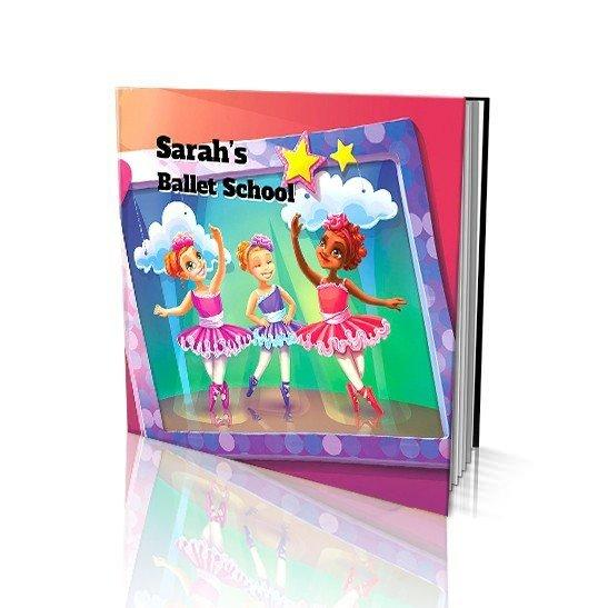 Large Soft Cover Story Book - Ballet School
