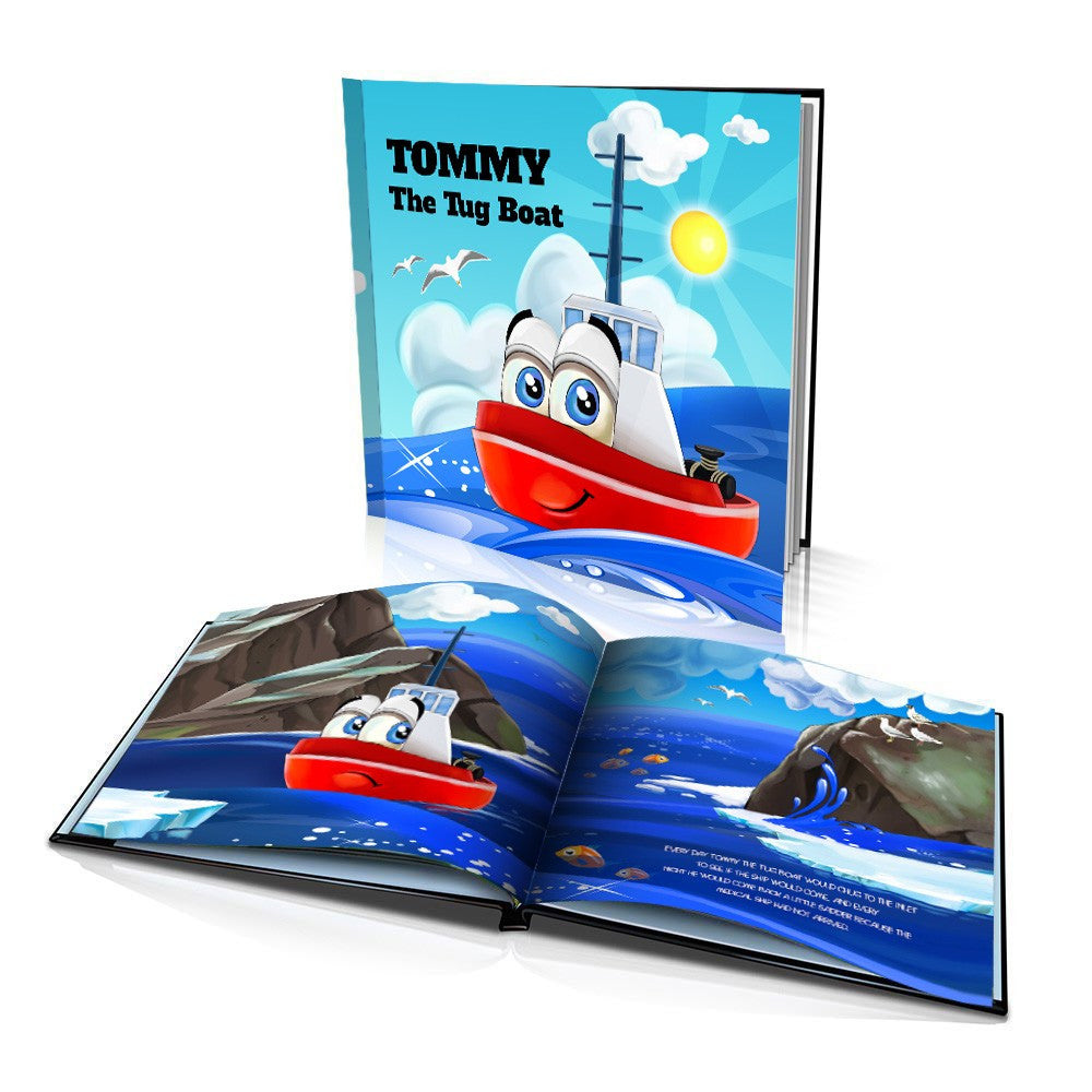 Hard Cover Story Book - The Tug Boat