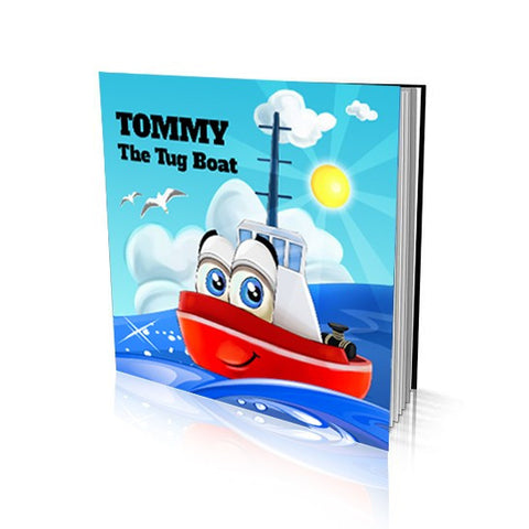 Soft Cover Story Book - The Tug Boat