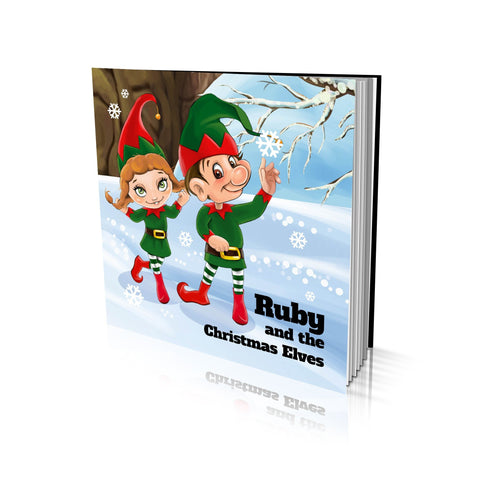 Large Soft Cover Story Book - The Christmas Elves